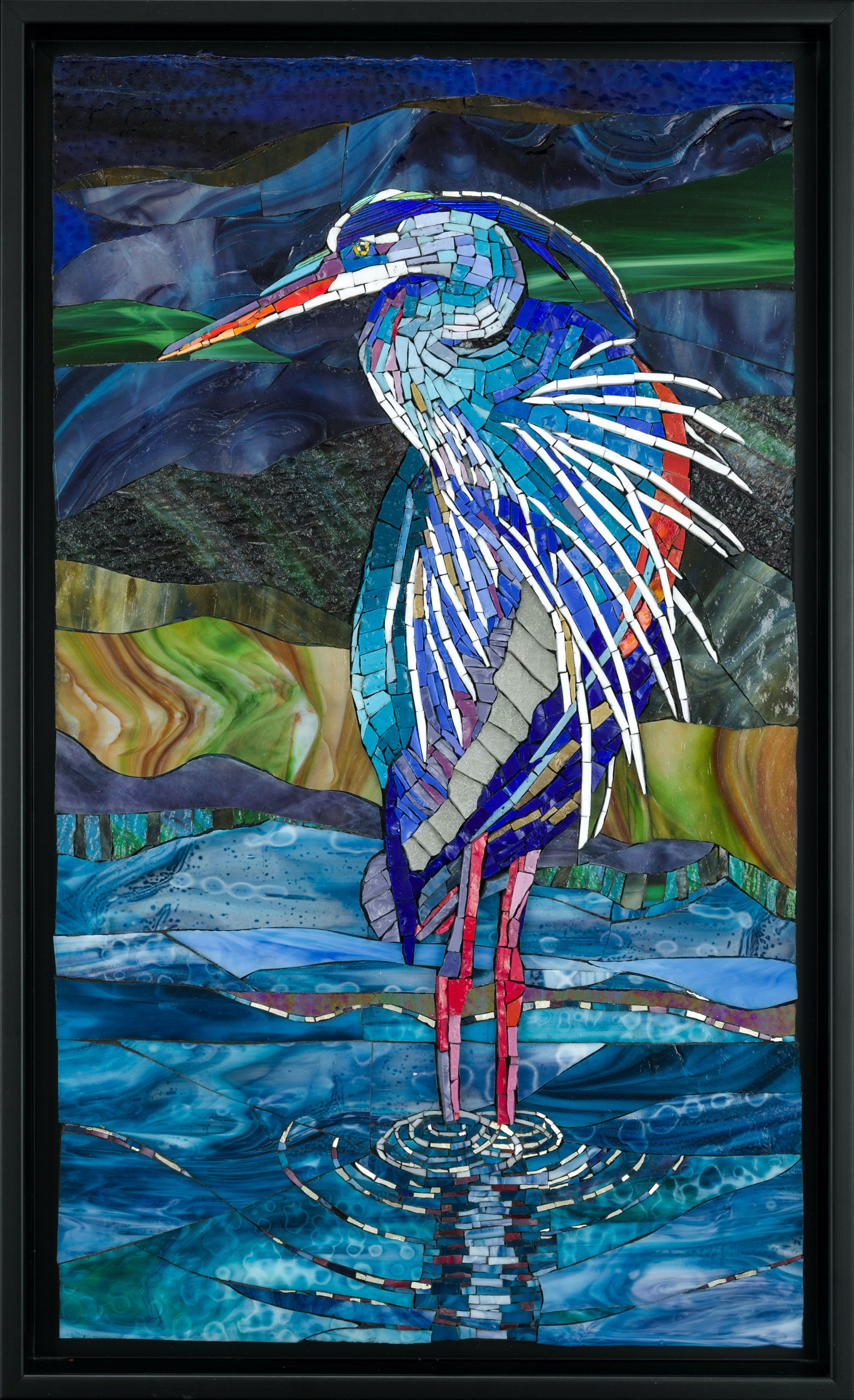 Michele Sider, Great Blue Heron 1, 2020