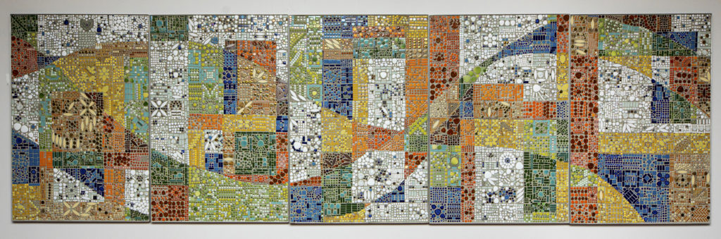 Libby Hintz, Middle Country Public Library Community Mosaic, 2019